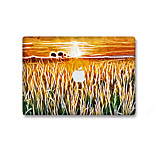 For MacBook Air 11 13/Pro13 15/Pro with Retina13 15/MacBook12 The Field Of Oil Painting Decorative Skin Sticker Glow in The Dark