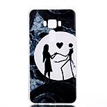 For Asus Zenfone 3 ZE520KL ZE552KL Dancing Pattern Relief Luminous TPU Material Phone Case