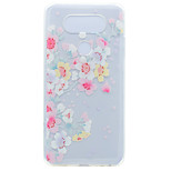 For LG G6 X Power Flower Pattern Soft TPU Material Phone Case for K10 K8 K7 V20 Nexus 5X