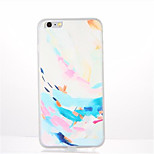 For Pattern Case Back Cover Case Feathers Soft TPU for Apple iPhone 7 Plus iPhone 7 iPhone 6s Plus iPhone 6 Plus iPhone 6s iPhone 6