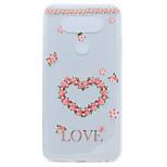 For LG G6 X Power Heart Pattern Pattern Soft TPU Material Phone Case for K10 K8 K7 V20 Nexus 5X