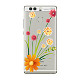 For Huawei P10 P9  Transparent Pattern Case Back Cover Case  Flower Soft TPU for Huawei P10 Plus P9 Plus P9  Lite  P8 P8 Lite Mate8 Mate9 Mate9 Pro