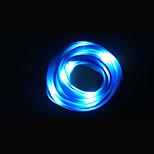 natt kjører Flash LED lys trend glødende blinkende lysstoffrør lysende batteri skolisse kreative barn bursdag gaver