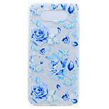 For LG G6 X Power Flower Pattern Soft TPU Material Phone Case for K10 K8 K7 V20 Nexus 5X