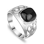 Ring Unique Design Euramerican Fashion Personalized Simple British Zinc Alloy Jewelry Jewelry For Anniversary Birthday For Men Casual Unqiue Rings