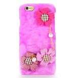 For DIY Case Sunflower Bracelet Plush PC Back Cover Case for Apple iPhone 7 Plus iPhone 7 iPhone 6s Plus/6 Plus iPhone 6s/6