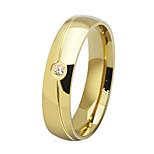 Ring Stahl Runde Form Kreis Gold Schwarz Silber Schmuck Alltag 1 Stück