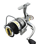 Fishing Reel Spinning Reels 5.2:1 6 Ball Bearings Right-handed General Fishing-GA4000