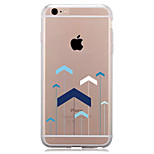 For IPhone 7 Case Back Cover Case TPU Geometric Paper Airplane Pattern for iPhone 7/ 7 Plus 6s/ 6 /6s Plus / 6 Plus/ SE / 5s / 5 /5C/ 4/4s