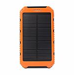 SUNWALK Portable Solar Charger Power Bank 5000mAh Dual USB Solar Battery Backup External Battery for Cell Phone