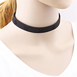 Gothic Lolita Pu Hollow out Necklace Lolita Accessories