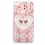 For Huawei P8 Lite (2017) P10 Case Cover Flowers And Birds Pattern Painted High Penetration TPU Material Soft Case Phone Case P10 Lite