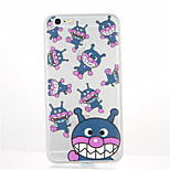 For Pattern Case Back Cover Case Cartoon Soft TPU for Apple iPhone 7 Plus iPhone 7 iPhone 6s Plus iPhone 6 Plus iPhone 6s iPhone 6
