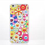 For Pattern Case Back Cover Case Flower Soft TPU for Apple iPhone 7 Plus iPhone 7 iPhone 6s Plus iPhone 6 Plus iPhone 6s iPhone 6