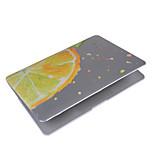 For MacBook Air 11.6 13.3 Pro 13.3 Retina Case Cover with Fruits Pattern PC Hard Protective Shell Matte Transparent