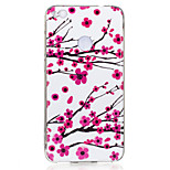 For Huawei P8 Lite(2017) P10 Case Cover Plum Blossom Pattern Luminous TPU Material IMD Process Soft Case Phone Case P10 Lite P9 Lite P8 Lite
