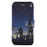 For Wiko Lenny3 Wiko Jerry Case Cover Tower Pattern Painted PU Material Card Holder Mobile Phone Holster Phone Case