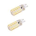 BRELONG  Dimmable G9/E27 4W 80 SMD 5730 400 LM Warm White / Cool White LED Bulb(110V/220V) 2pcs
