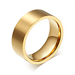 Ring Circle Steel Round Gold Jewelry For Daily 1pc