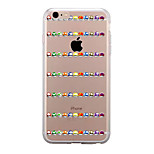 For IPhone 7 Case Back Cover Case TPU Cartoon Color Mushrooms Pattern for iPhone 7/ 7 Plus 6s/ 6 /6s Plus / 6 Plus/ SE / 5s / 5 /5C/ 4/4s