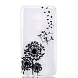 For Asus Zenfone 3 ZE520KL ZE552KL Dandelion Pattern Relief Luminous TPU Material Phone Case
