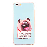 For Shockproof Pattern Case Back Cover Case Animal Soft TPU for Apple iPhone 6s Plus iPhone 6 Plus iPhone 6s iPhone 6 iPhone SE/5s iPhone