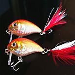 5 pcs Crank Random Colors 6.6 g Ounce mm inch,Plastic General Fishing