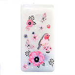 For Huawei P8 Lite (2017) P9 Lite Case Cover Flowers And Birds Pattern Painted Point Drill Scrub TPU Material Luminous Phone Case