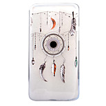 Para Transparente Diseños Funda Cubierta Trasera Funda Atrapasueños Suave TPU para LG LG G6 LG X Screen LG X Power