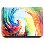 Caso del macbook del patrón del arco iris de la pintura al óleo para macbook air11 / 13 pro13 / 15 favorable con retina13 / 15 macbook12