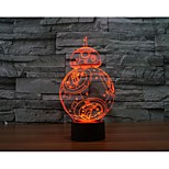 In One Thousand Falcon 3 D Light Yakeli Is Stereo Light LED Colorful Gradient Atmosphere Lamp