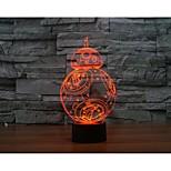 dans un mille faucons 3 d light yakeli est une lumière stéréo lumineuse à LED