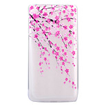 For HUAWEI 6X P8Lite(2017) Case Cover Plum Blossom Pattern HD TPU Phone Shell Material Phone Case