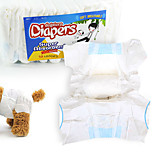 Pet exclusive use diapers dog diapers Soft and breathable Super strong suction urine