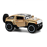 SUV Pull Back Vehicles Car Toys 1:32 Metal Red Green Gold Model & Building Toy