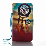 For Huawei P8 Lite (2017) Mate 9 Card Holder Wallet with Stand Flip Pattern Case Full Body Case Dream Catcher Hard PU Leather