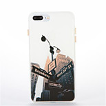 For Glow in the Dark Pattern Case Back Cover Case City View Soft TPU for Apple iPhone 7 Plus 7  6s Plus 6 Plus 6s 6 5s 5