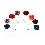 Boys´ Brooches Flowers Petals Fabric Flower Jewelry For Wedding Daily Casual