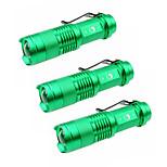 Luci Torce LED LED 1500 Lumens 3 Modo Cree XP-E R2 14500 Messa a fuoco regolabileCampeggio/Escursionismo/Speleologia Uso quotidiano