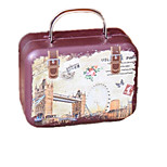 Music Box Castle in the Sky Creative Wood Brown