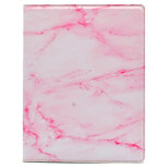 For IPad Por 9.7 With Stand IMD Flip Case Full Body Case Marble Hard PU Leather Screen Protective Film As Freebie