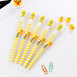 12 PCS Egg Gel Pen Pen Gel Pens PenPlastic Silicone Barrel Black Ink Colors For School Supplies Office Supplies