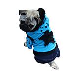 Dog Coat Hoodie Dog Clothes Winter Spring/Fall Stars Fashion Casual/Daily