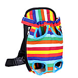 The Pet Dog Backpack Bag Chest Out Convenient Bag Backpack Four Color