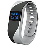 smart fréquence cardiaque bracelet rappel d'appel moniteur pédomètre sommeil caméra à distance d'affichage des bracelets oled pour iphone