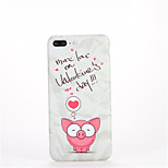 For Pattern Case Back Cover Case Word / Phrase Soft TPU for Apple iPhone 7 Plus iPhone 7 iPhone 6s Plus iPhone 6 Plus iPhone 6s iPhone 6