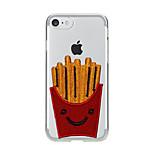 Pour Transparente Motif Coque Coque Arrière Coque Dessin Animé Flexible PUT pour AppleiPhone 7 Plus iPhone 7 iPhone 6s Plus iPhone 6 Plus