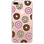 For Apple iPhone 7 7 Plus 6S 6 Plus Case Cover Donuts Pattern Painted High Penetration TPU Material Soft Case Phone Case