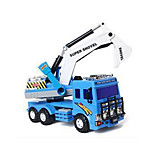 Vehículo de construcción Vehículos de tracción trasera Juguetes Juguetes de coches 1:12 Plástico Azul Modelismo y Construcción