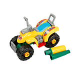 Motorcycle Pull Back Vehicles Car Toys 1:10 Plastic Rainbow Model & Building Toy
